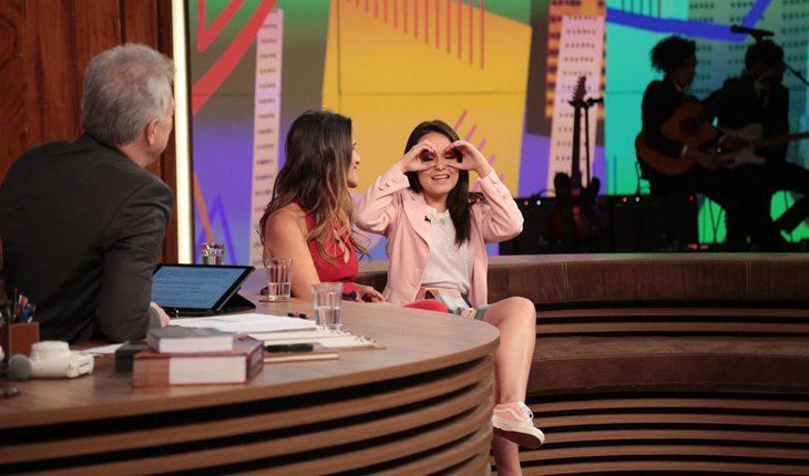 Larissa Manoela no Conversa com Bial