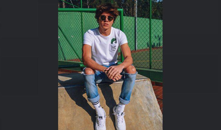 Leo Cidade, namorado de Larissa Manoela