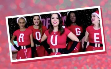 Rouge vestidas de Meninas Malvadas
