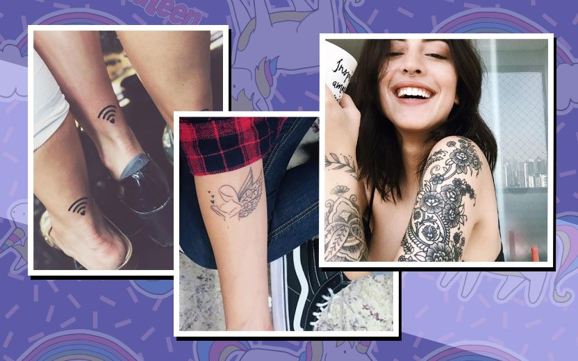 desenho da sua primeira tatuagem