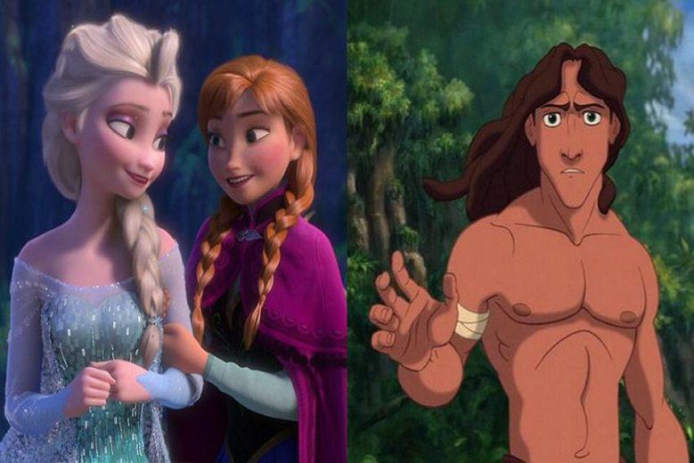 Frozen e Tarzan