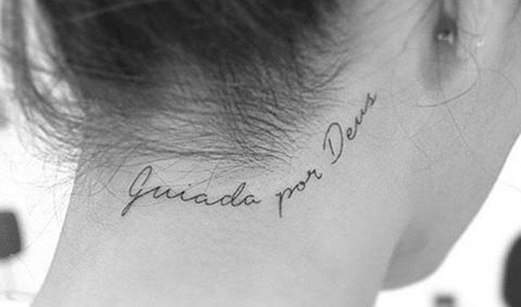Tatuagens Com Frases Positivas Inspire Se Para Fazer Uma Tatto