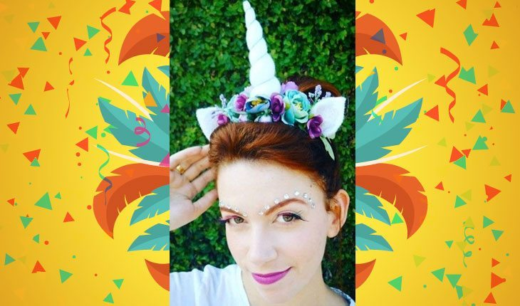 acessórios de cabelo para o carnaval