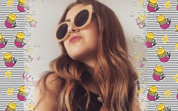 Blogo da Klara Castanho da todateen: Klara de óculos de sol