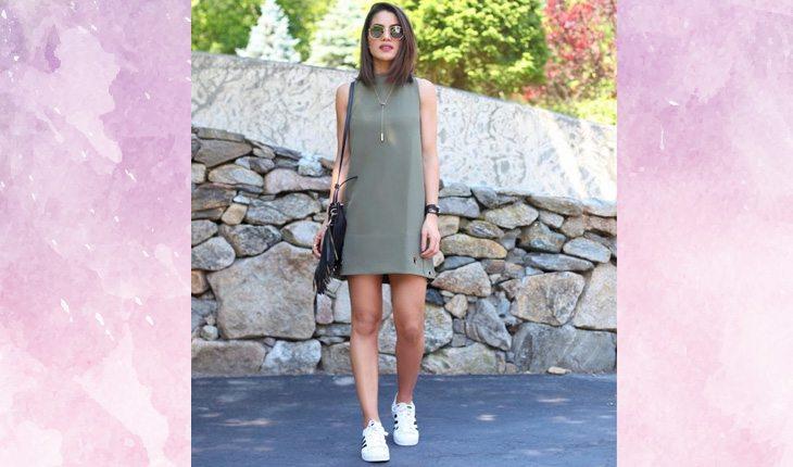 3e7b9479e3 Como usar vestido com tênis  inspirações para o dia a dia