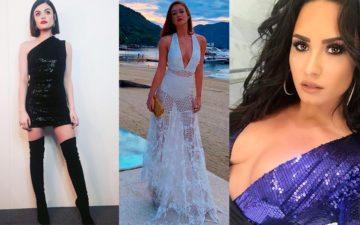 Veja os principais looks das famosas no réveillon 2018
