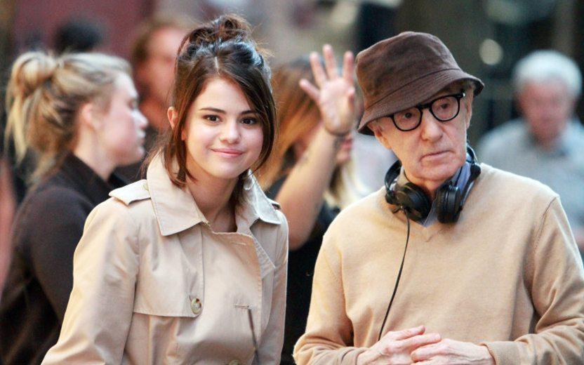 Gravações do filme de Woody Allen com Selena Gomez