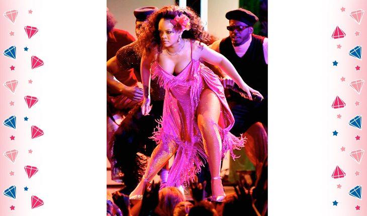 Rihanna no palco