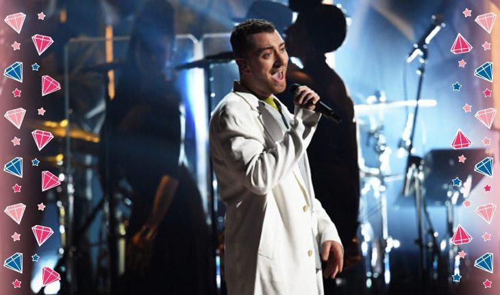 Sam Smith no palco