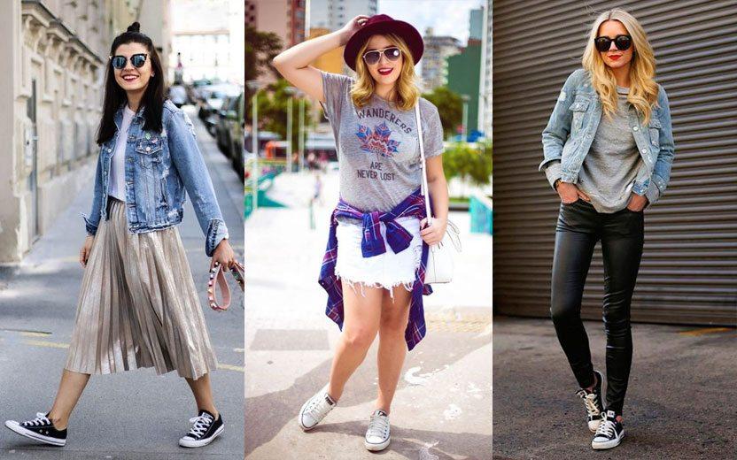 6bd3b3415 Looks com All Star: 15 opções fashion e despojadas para se inspirar!