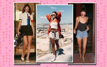 Looks das famosas com shorts