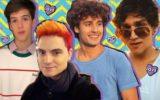 João Guilherme, Felipe Neto, Bruno Peixoto e Christian Figueiredo revelando mitos sobre o crush