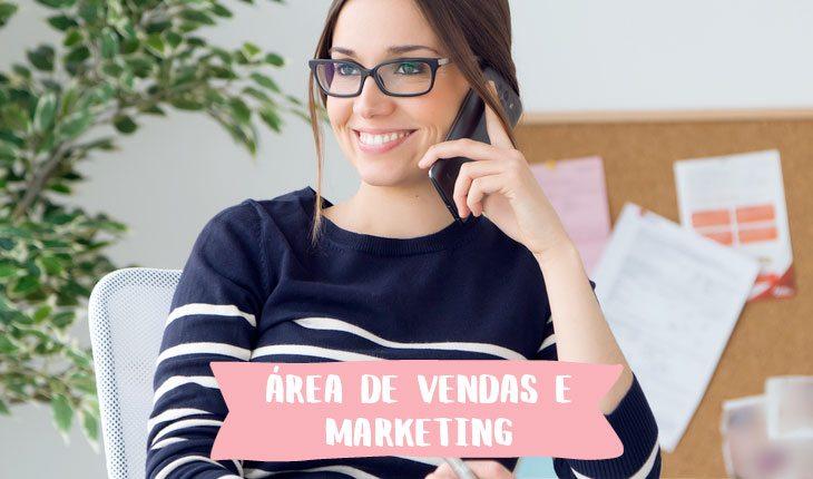 Profissões em alta em 2018: área de vendas e marketing