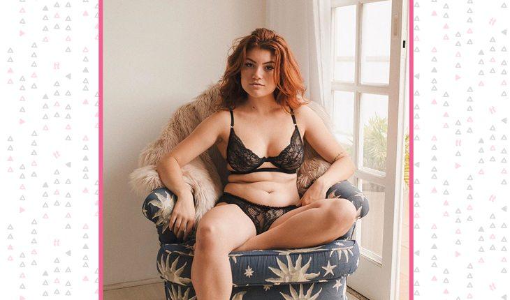 Ellora Haonne sempre tenta mostrar seu corpo real no Instagram