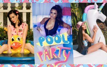 Pool party de 15 anos