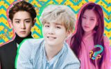 membros do estilo musical e alguém que não pertence ao K-Pop