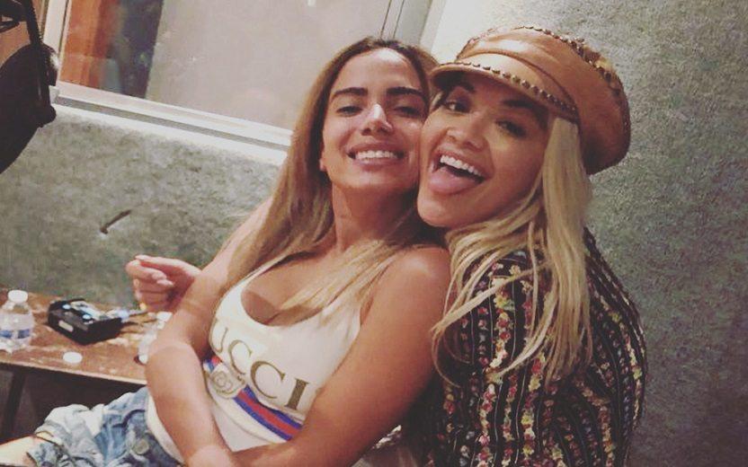 Anitta e Rita Ora