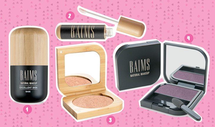 Beleza sustentável: produtos de maquiagem da marca BAIMS