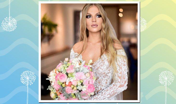 O casamento de Whindersson Nunes com Luísa Sonza: noiva