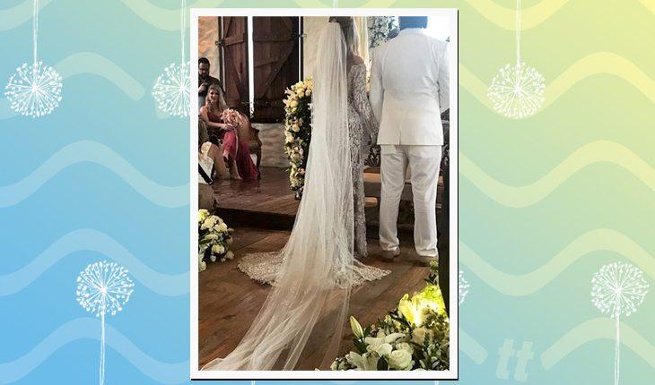O casamento de Whindersson Nunes com Luísa Sonza: noivos no altar