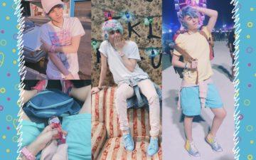 Dicas de moda do Erick Mafra: Erick com looks tons pastel
