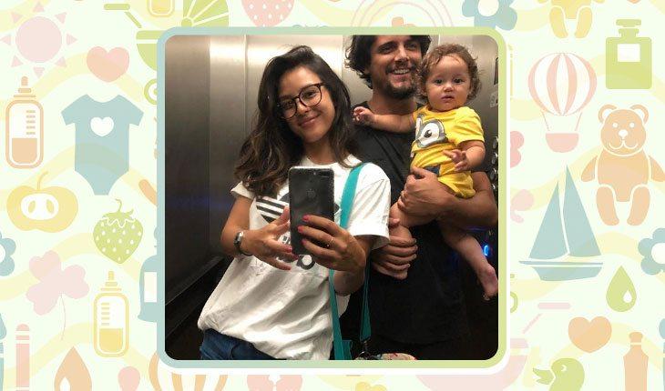 Filha de Bruno Gissoni e Yanna Lavigne
