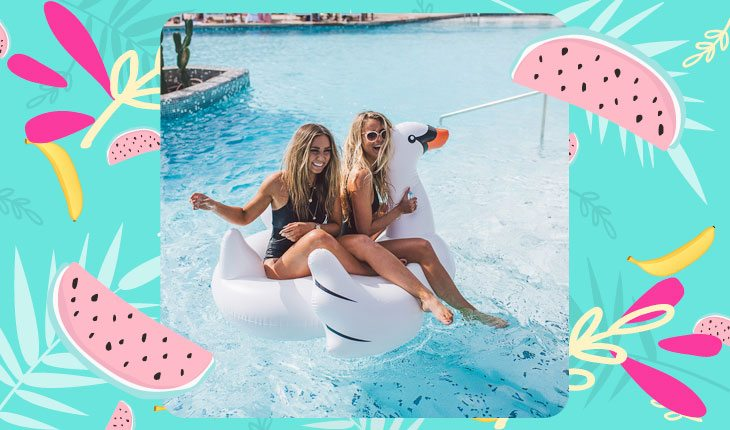 Fotos tumblr na piscina: 20 ideias para copiar com as amigas