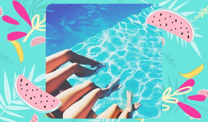 Fotos Tumblr Na Piscina Ideias Para Copiar Com Suas Amigas