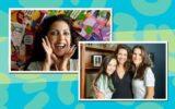 Thalita Rebouças com livros, Larissa Manoela e Ingrid Guimarães