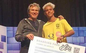 participantes do novo RBD: brasileiro Flávio