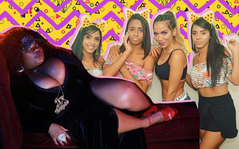 hit do Carnaval 2018: Mc Lomma, Anitta e JoJo Toddynho em uma montagem