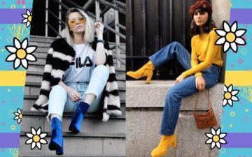 botas coloridas