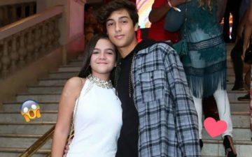 Mel Maia e Erick