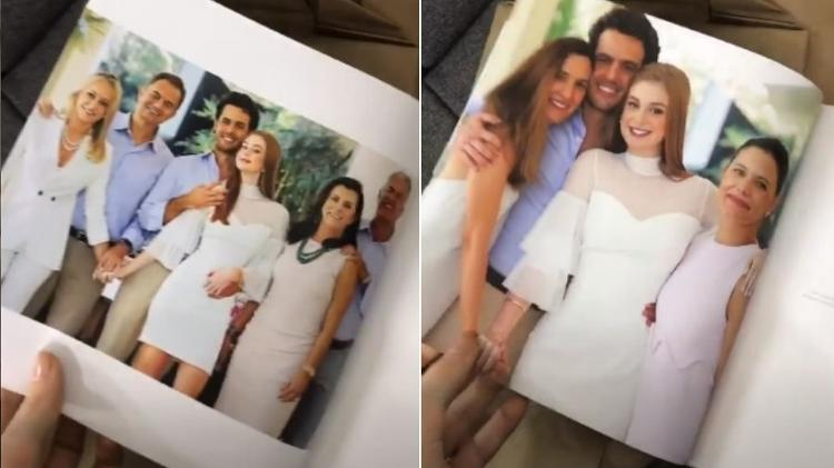 Marina Ruy Barbosa mostra álbum com fotos de seu casamento