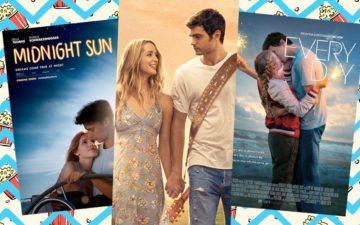 lançamentos de 2018: montagem com 3 filmes