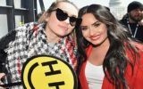 demi lovato e miley cyrus na march for our lives