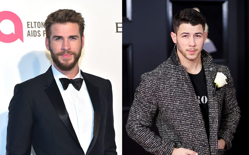 Duelo de Gatos: Liam Hemsworth ou Nick Jonas?