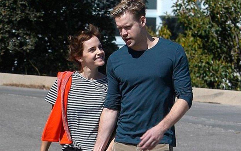 Fofos! Emma Watson está namorando Chord Overstreet, de Glee!