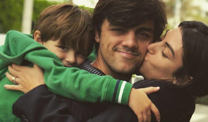 Felipe simas e filhos