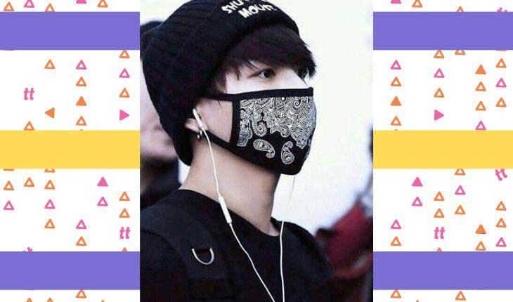 k-idols usan máscaras