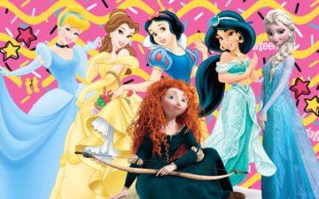 penteados inspirados nas princesas