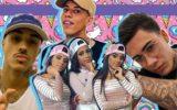 Hits de funk: Livinho, MC Loma e as gêmeas lacração, MC Don Juan e Livinho reunidos em uma montagen