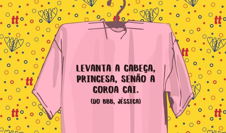 Camisetas com frases