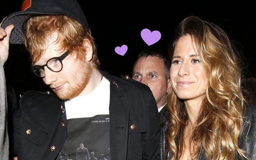 Ed Sheeran e a esposa, Cherry Seaborn, estão esperando o primeiro filho!