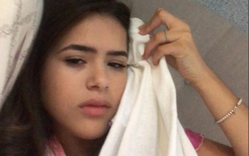 acidente de Maisa Silva