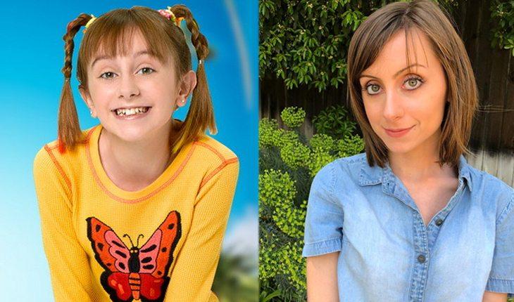 Antes e depois de Sunny entre Estrelas: ALLISYN ASHLEY ARM