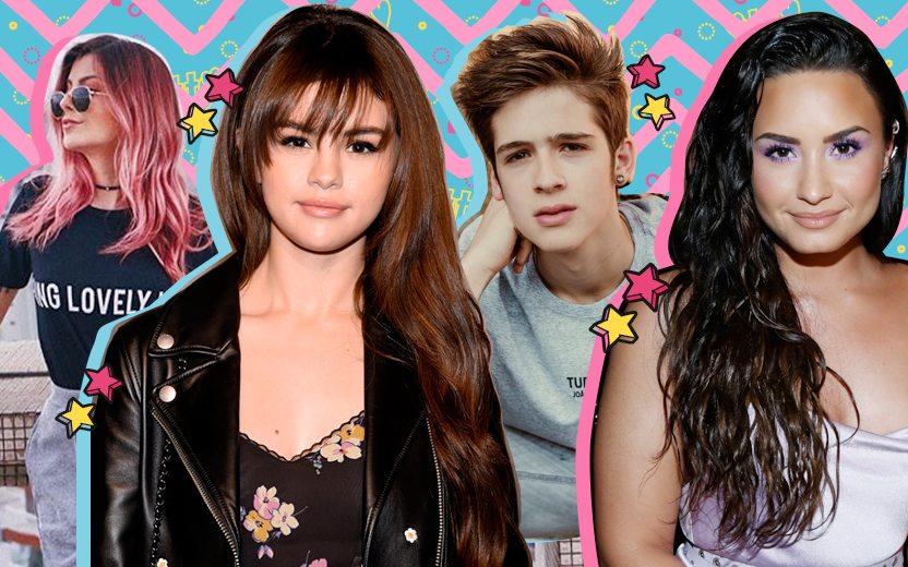 Cores de cabelo das celebridades
