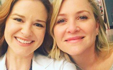 Jessica Capshaw e Sarah Drew