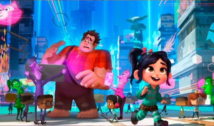 Lançamentos da Disney e Marvel: WiFi Ralph