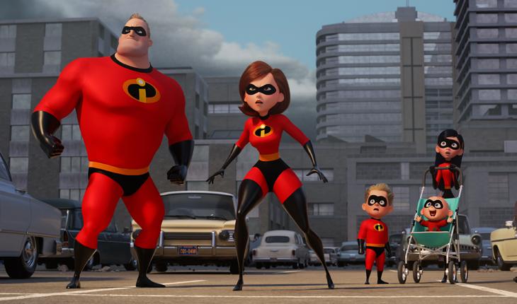 Lançamentos da Disney e Marvel: Os Incríveis 2